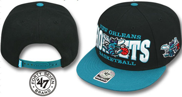 New Orleans Hornets NBA Snapback Hat Sf01